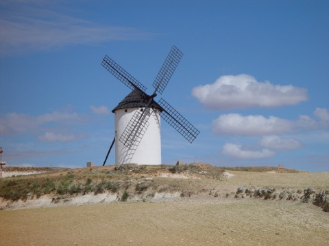 Das Land des Don Quichote   -   The country of Don Quichote